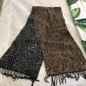 Perfect condition super soft leopard scarf